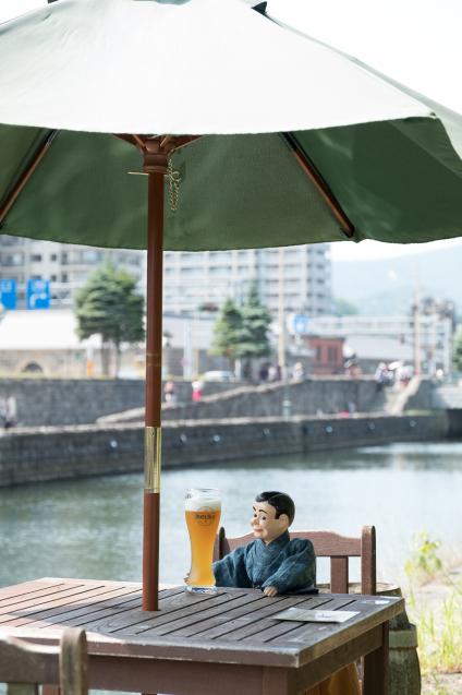 夏の思い出 ⑤ 小樽運河と小樽ビール_e0369736_15395457.jpg