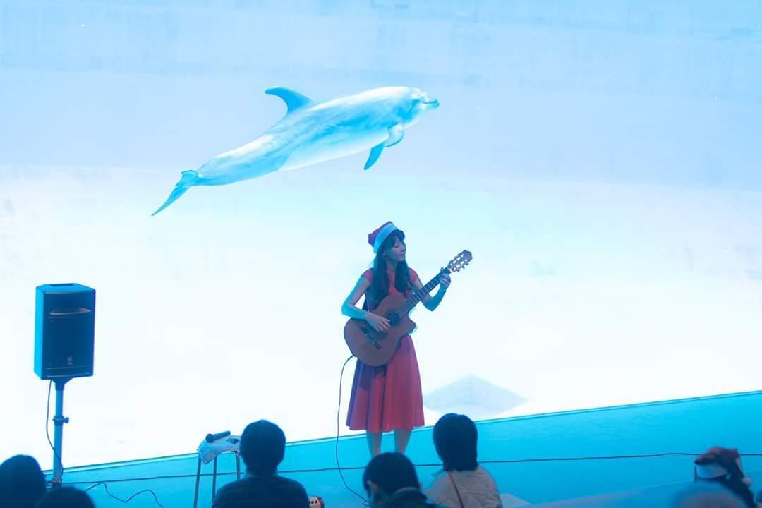 名古屋港水族館クリスマスアクアリウムコンサート2019_f0373339_10331662.jpg