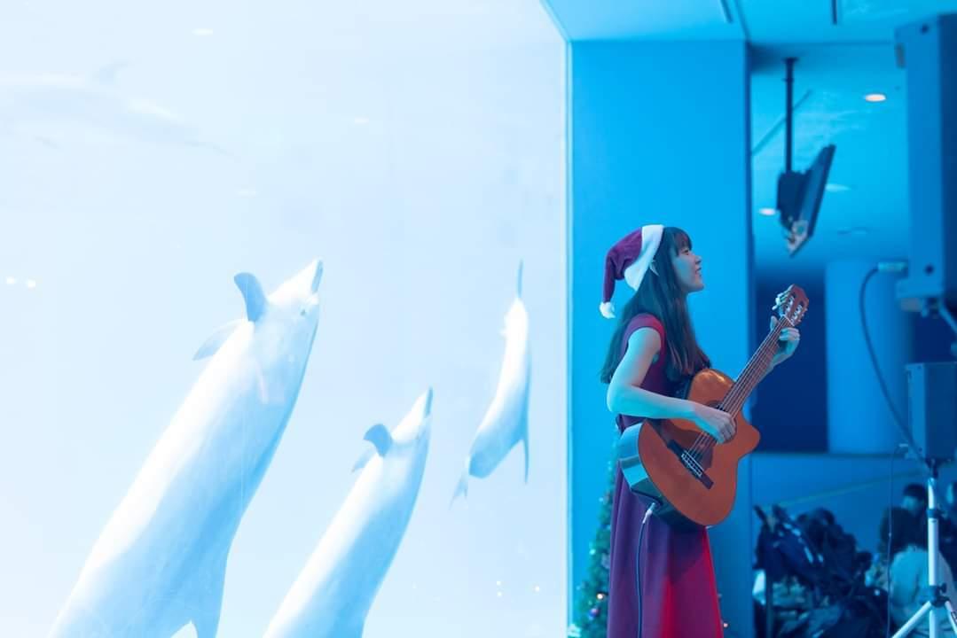 名古屋港水族館クリスマスアクアリウムコンサート2019_f0373339_10333508.jpg