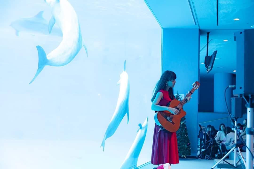 名古屋港水族館クリスマスアクアリウムコンサート2019_f0373339_10333554.jpg