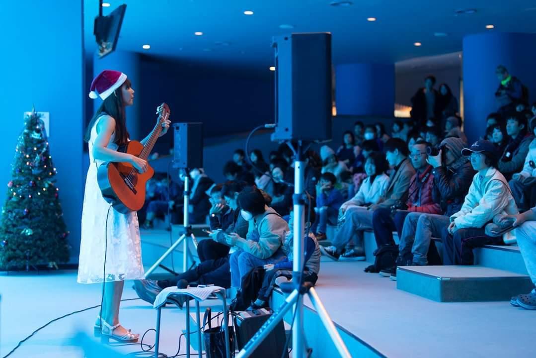 名古屋港水族館クリスマスアクアリウムコンサート2019_f0373339_10350355.jpg