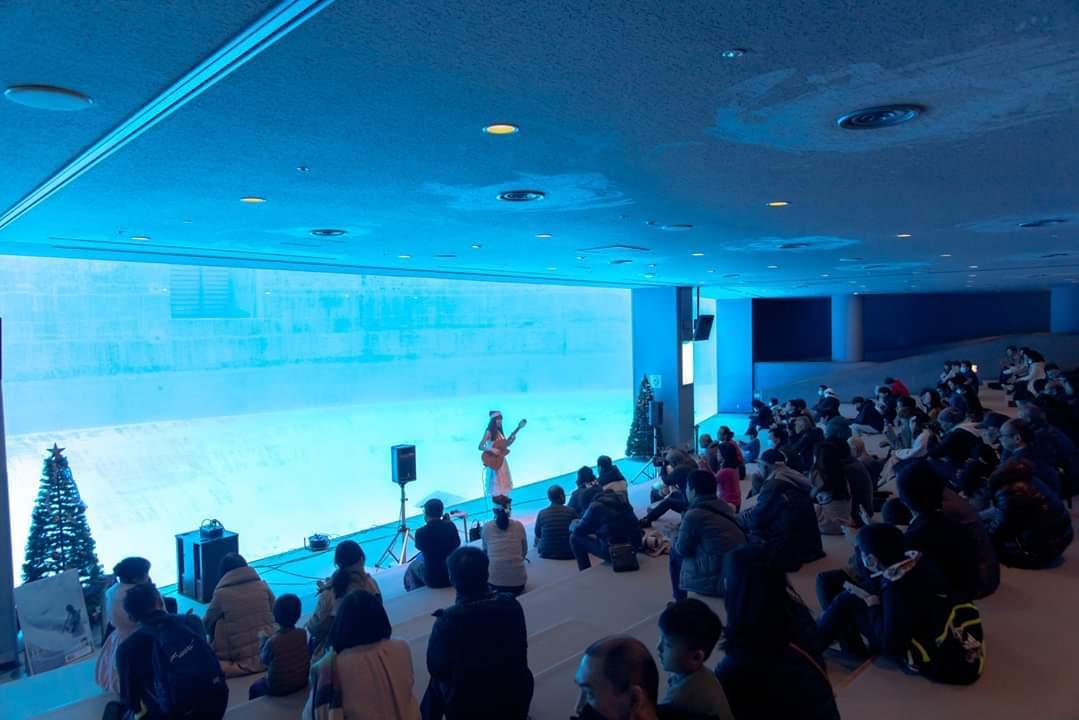 名古屋港水族館クリスマスアクアリウムコンサート2019_f0373339_10385865.jpg