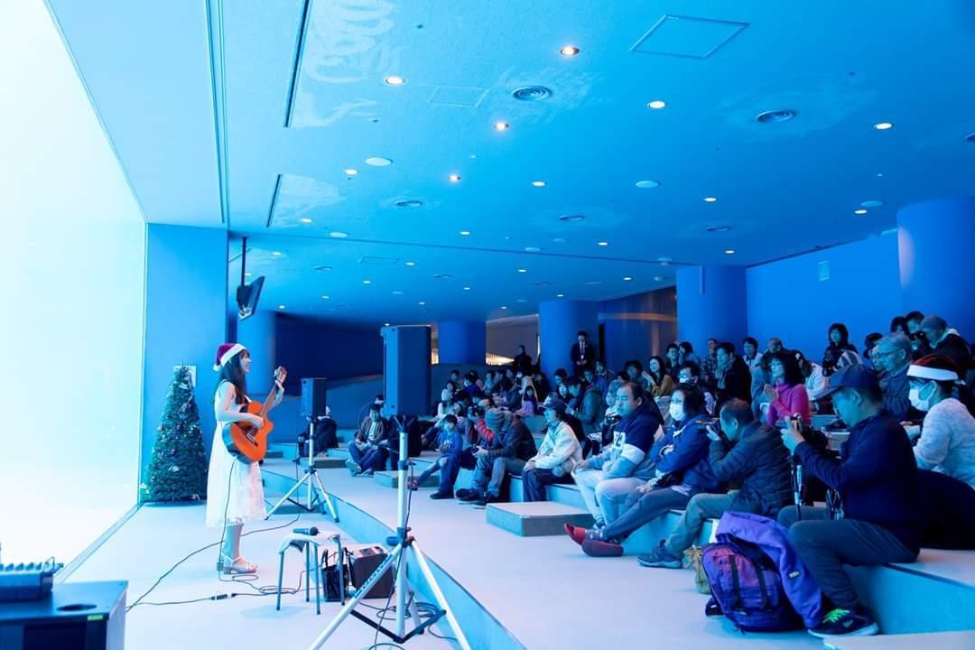 名古屋港水族館クリスマスアクアリウムコンサート2019_f0373339_10385874.jpg