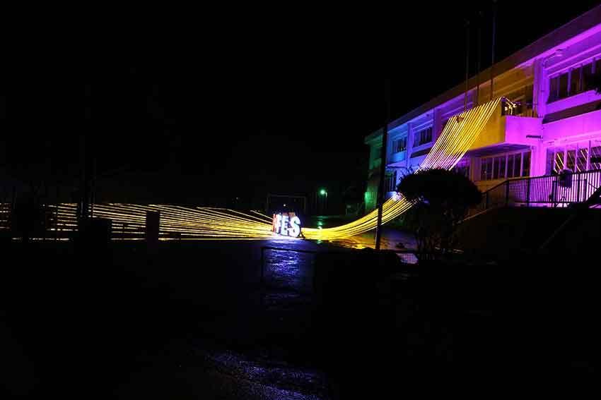 第22回「高開石積みライトアップ」2日目♪+「旧種野小学校」のライトアップ♪_d0058941_20410582.jpg