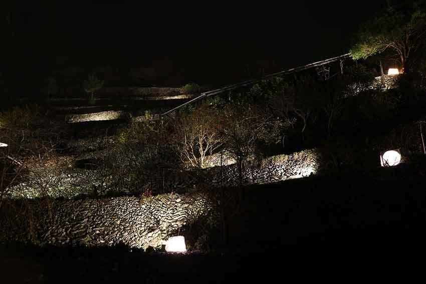 第22回「高開石積みライトアップ」2日目♪+「旧種野小学校」のライトアップ♪_d0058941_20474000.jpg