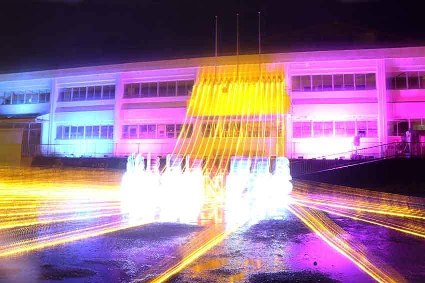 第22回「高開石積みライトアップ」2日目♪+「旧種野小学校」のライトアップ♪_d0058941_20494122.jpg