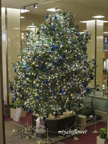 帝国ホテルのクリスマスツリー 2019_b0255144_18554669.jpg