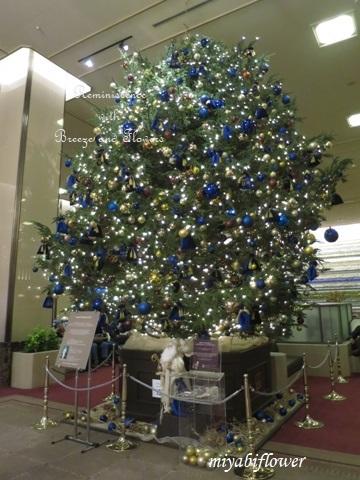帝国ホテルのクリスマスツリー 2019_b0255144_18560695.jpg