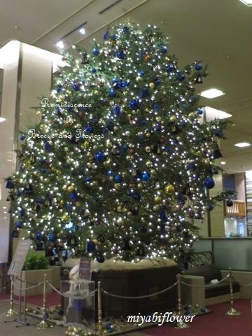 帝国ホテルのクリスマスツリー 2019_b0255144_18573439.jpg
