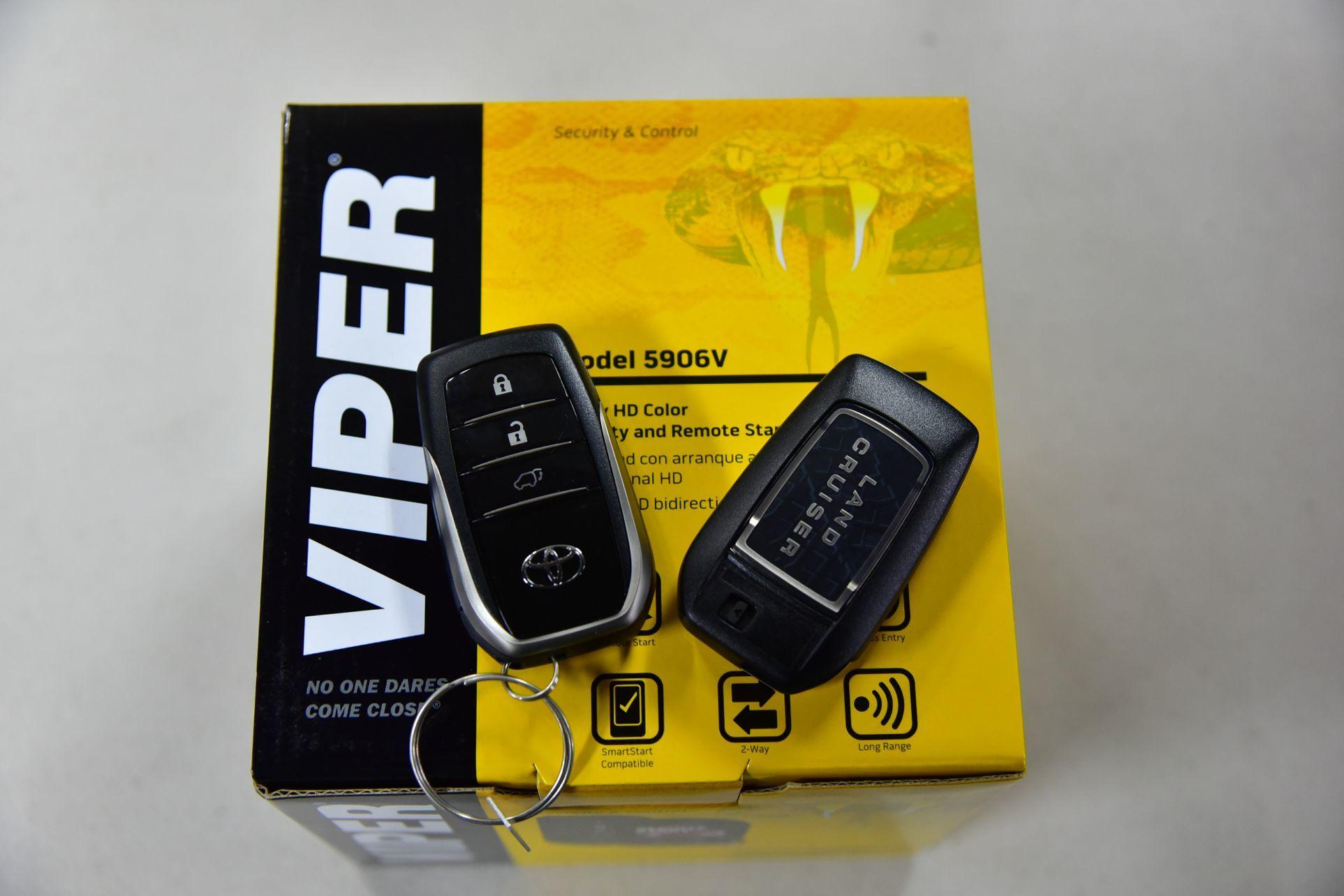 ランクル200にVIPER5906Vとオプション取り付け_c0199344_18274017.jpg