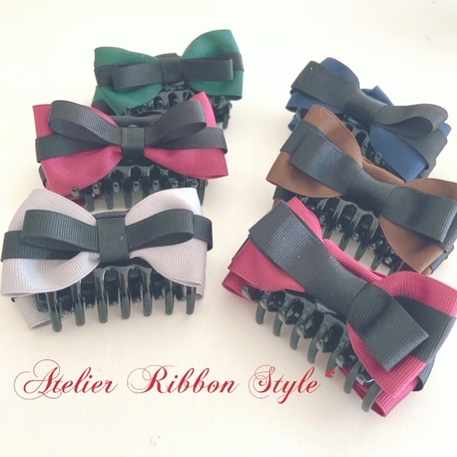 Cross ribbon VanceClip♡_f0017548_23492345.jpg