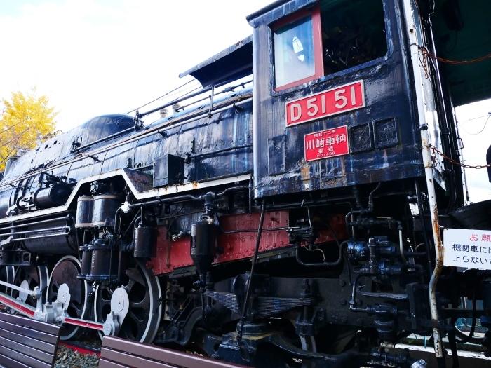 嵯峨嵐山駅前のD51蒸気機関車  2019-12-26 00:00    _b0093754_22351623.jpg