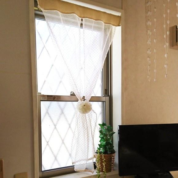 ++キッチンの窓のカーテン*を・・・++_e0354456_09420877.jpg
