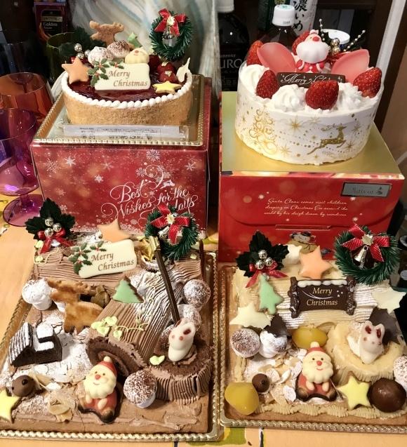わんこだらけ?ケーキだらけのクリスマスパーティ☆_e0141159_14422853.jpeg