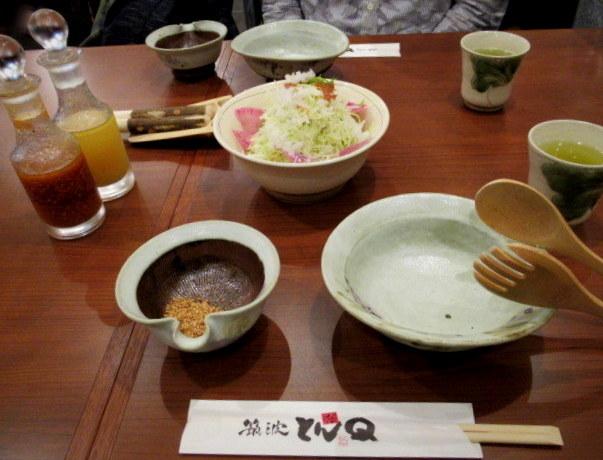 とんかつとんQ * SHIBUYA FUKURAS~生まれ変わった東急プラザ渋谷♪_f0236260_22225696.jpg