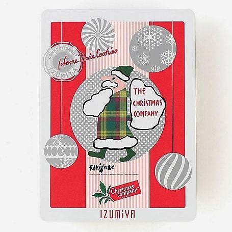 IZUMIYA 泉屋東京店 * 老舗菓子店のクリスマス限定缶♪_f0236260_22580868.jpg