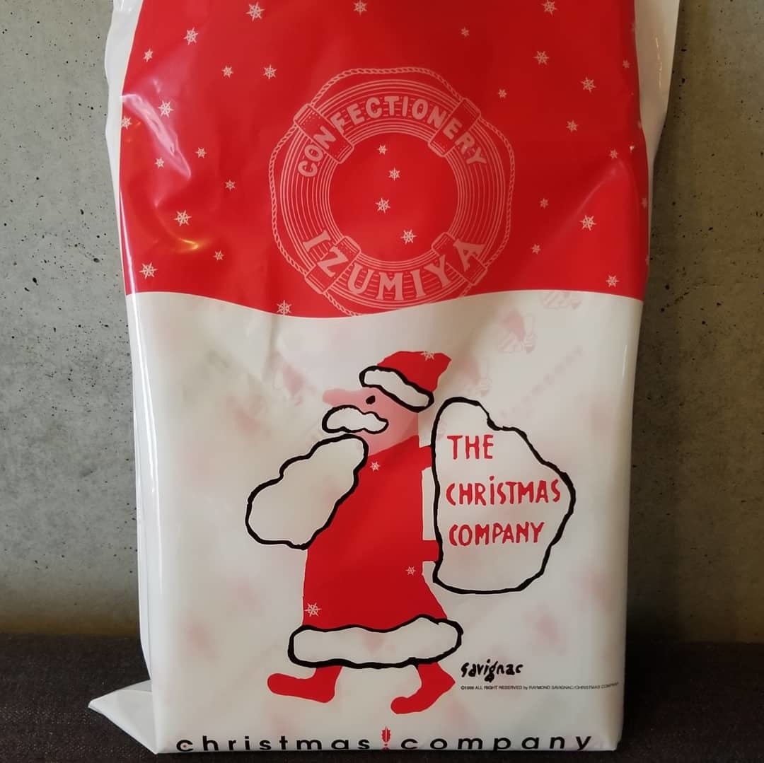 IZUMIYA 泉屋東京店 * 老舗菓子店のクリスマス限定缶♪_f0236260_22584169.jpg