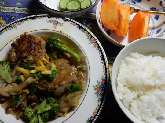'19,12,23(月)肉団子と白菜のとろとろ煮とセスキで掃除!_f0060461_09371082.jpg