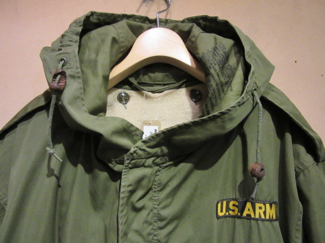 50s US ARMY M-51 PARKA /フィッシュテールパーカー/モッズコート_b0166471_19220503.jpg