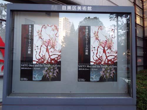 ぐるっとパスNo.5 目黒区美「斎藤芽生とフローラの神殿」展まで見たこと_f0211178_19001139.jpg
