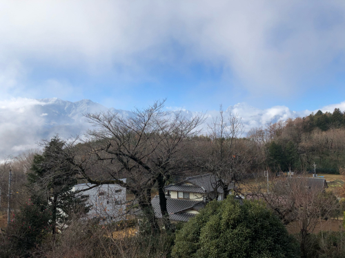 全山冠雪、甲斐駒ケ岳、八ヶ岳全部雪❄️で真っ白。_d0338282_12032352.jpg
