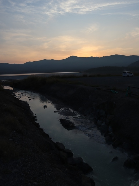 藤田八束鉄道の旅、恐山を訪ねて・・・・むつ市・渡辺水産のベビーホタテと裂きイカ、これ最高です。美味しさの秘訣は自然の恵みにありました。_d0181492_23444843.jpg