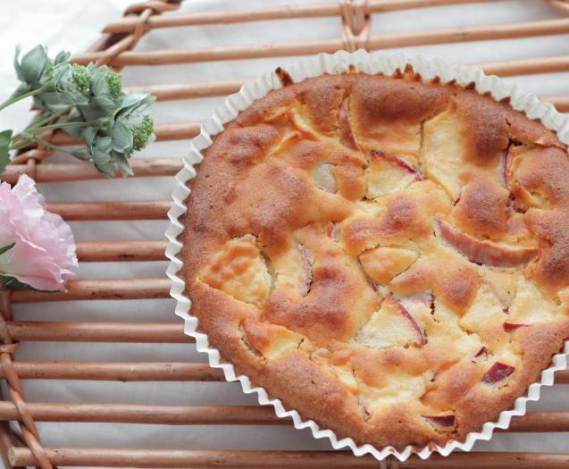 りんごのケーキ♡_a0370893_23171054.jpg