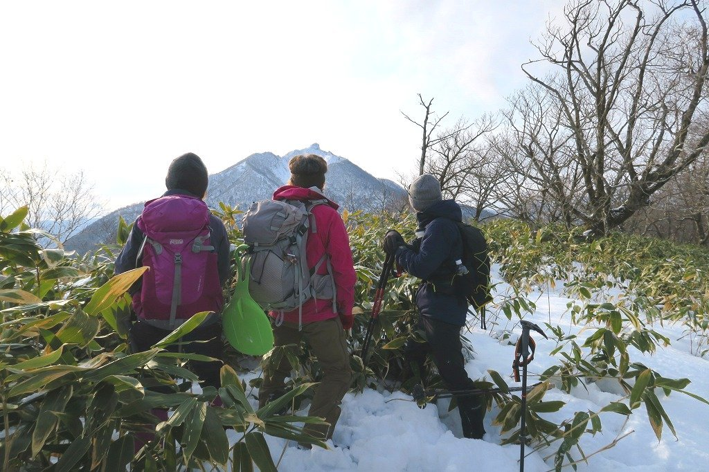 トレースがあった幌平山、2019.12.23_f0138096_17570082.jpg