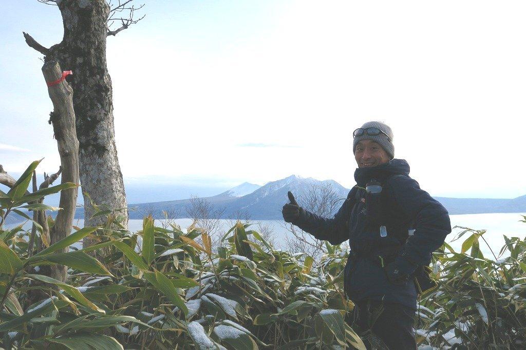 トレースがあった幌平山、2019.12.23_f0138096_17570674.jpg