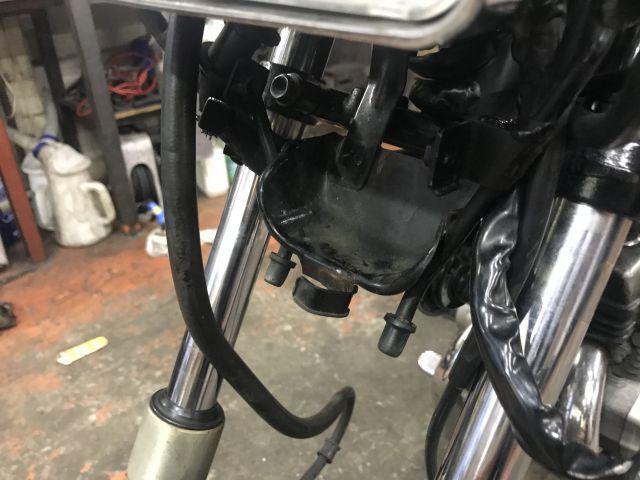 CBX125カスタム タイヤ交換完了!_a0164918_17451570.jpg