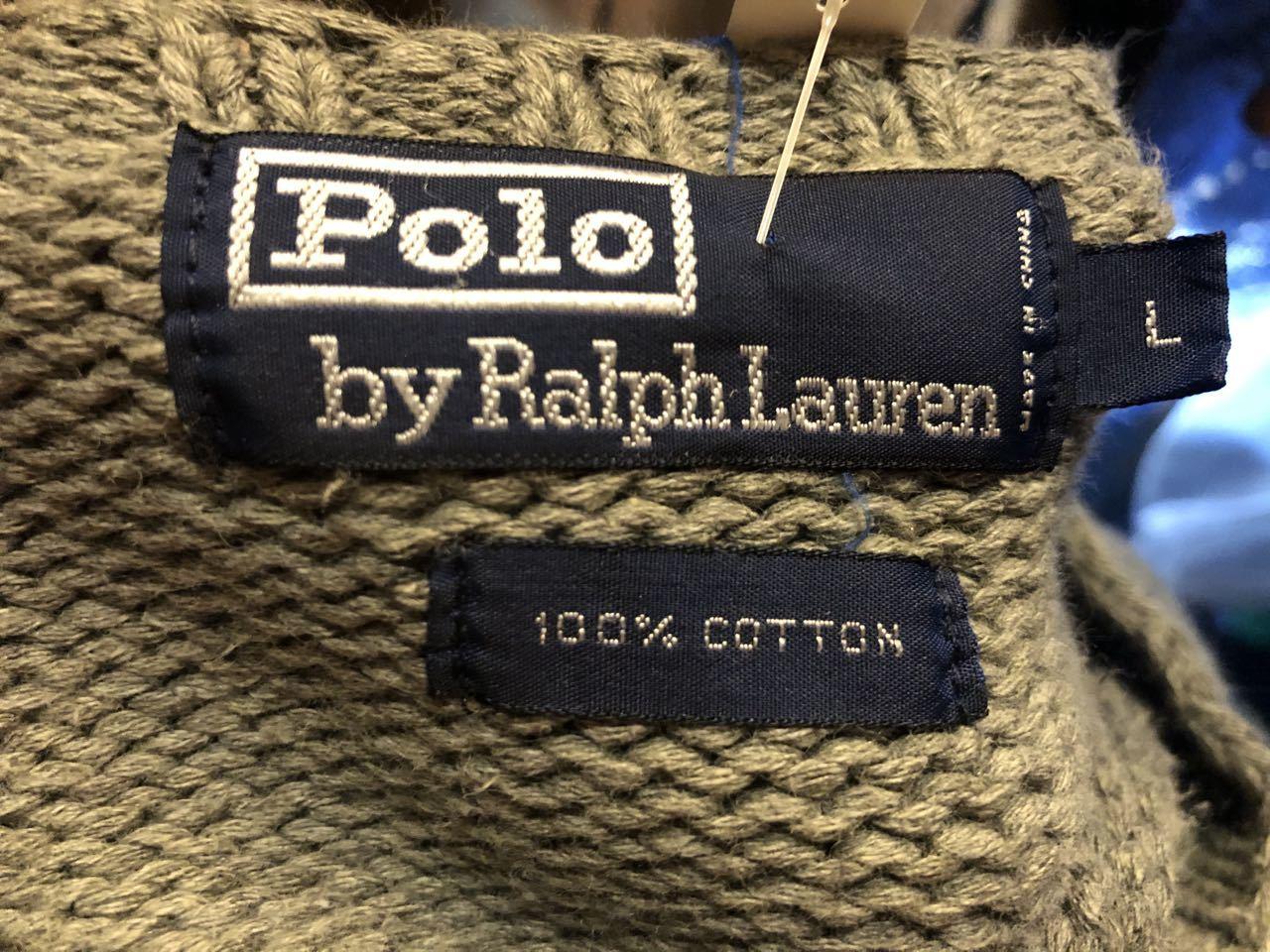 12月25日(水)入荷! POLO RALPH LAUREN ラルフローレン ニット セーター!_c0144020_17373168.jpg