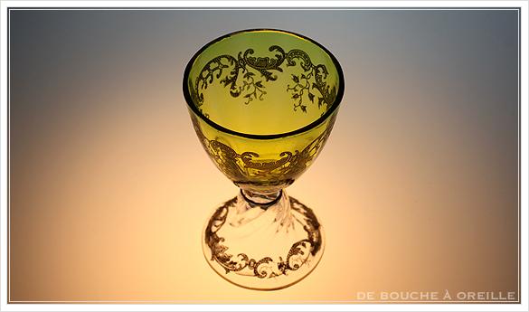 """サン・ルイ クリュニー Saint Louis \""""Cluny\"""" その1 オールド バカラ グラス フランス アンティーク_d0184921_13065158.jpg"""