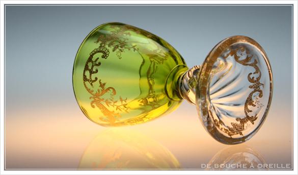 """サン・ルイ クリュニー Saint Louis \""""Cluny\"""" その1 オールド バカラ グラス フランス アンティーク_d0184921_13102088.jpg"""