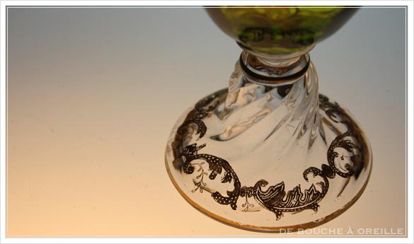 """サン・ルイ クリュニー Saint Louis \""""Cluny\"""" その1 オールド バカラ グラス フランス アンティーク_d0184921_13174996.jpg"""