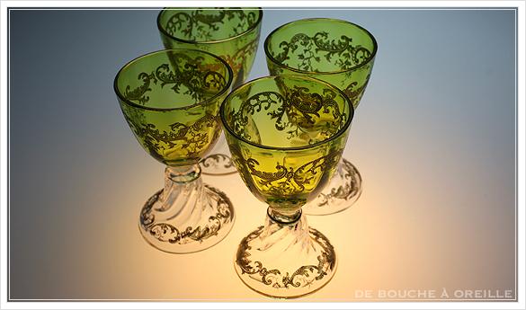 """サン・ルイ クリュニー Saint Louis \""""Cluny\"""" その1 オールド バカラ グラス フランス アンティーク_d0184921_15193141.jpg"""