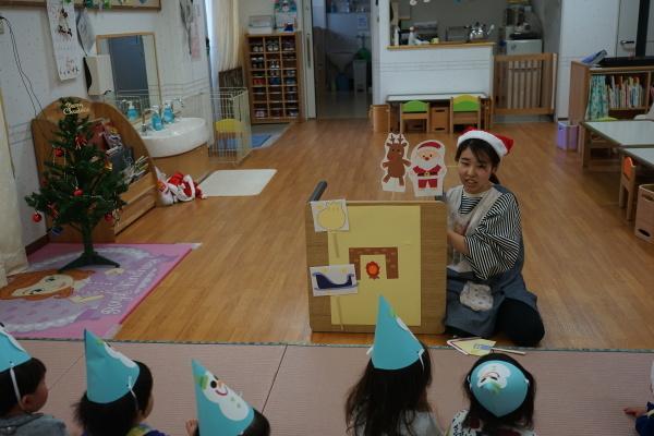 保育園 クリスマス会_a0166025_13450922.jpg