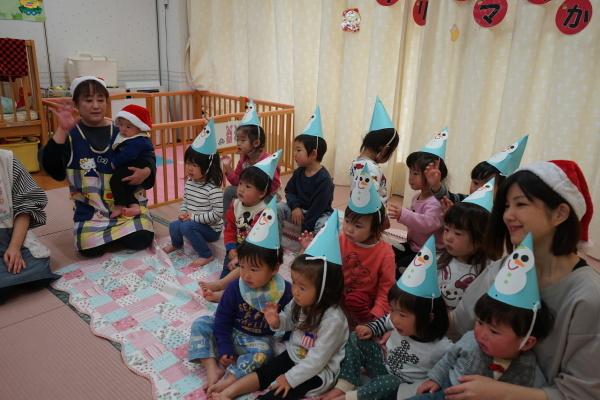 保育園 クリスマス会_a0166025_13520956.jpg