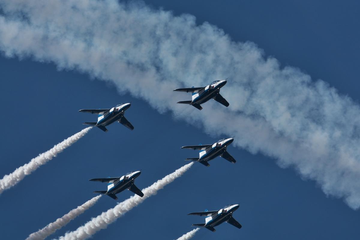 令和元年百里基地航空祭(その1)久しぶりのブルーインパルス_d0137627_22173280.jpg
