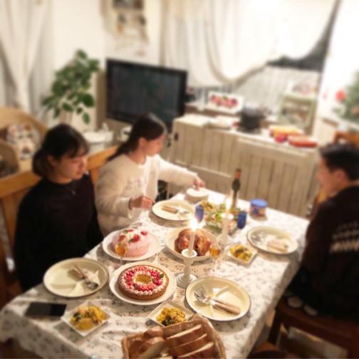 2019メリークリスマス!!今年も我が家はホームパーティ♪_f0023333_22574704.jpg