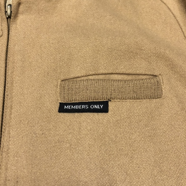 "80\'s~  \""MEMBERS ONLY\"" レインボータグ  Wool jacket!!!!!_c0355834_18473095.jpg"