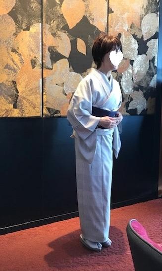 Xmasの帯のお客様・ご自分で描かれた着物・絞のツリーの帯。_f0181251_18024447.jpg