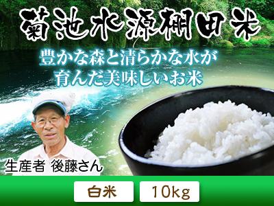 熊本の美味しいお米(七城米、菊池水源棚田米、砂田のれんげ米)大好評発売中!こだわり紹介 その2_a0254656_14432184.jpg