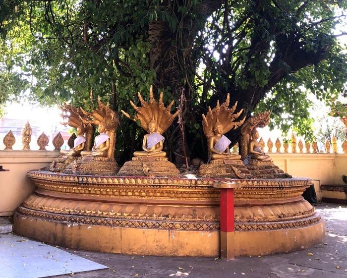 ラオスの旅 9  タート・ルアン南寺院その2_a0092659_18532163.jpg