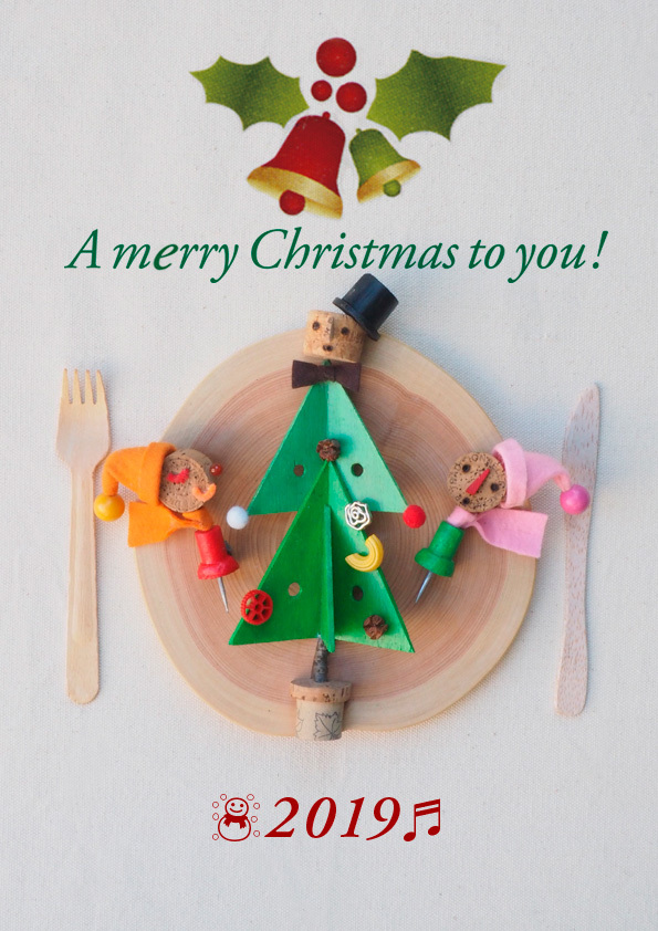 A marry Christmas to you! 2019_d0148062_11445017.jpg