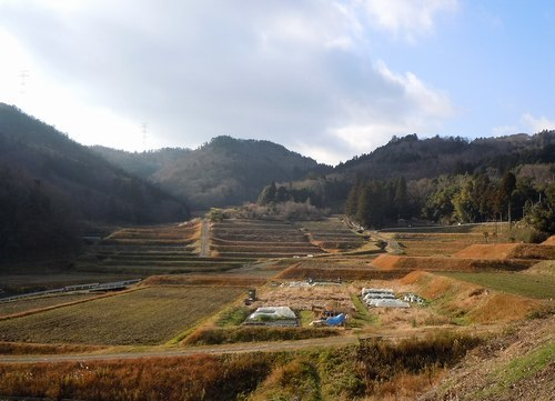 棚田に囲まれた百姓家で蕎麦を喰う_b0102572_09404501.jpg