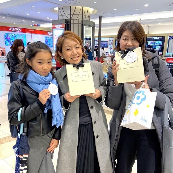 ジョーマローン阪急梅田店☆筆耕無事に終了しました。_b0165872_20105428.jpeg
