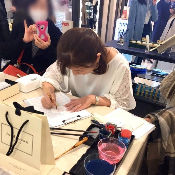 ジョーマローン阪急梅田店☆筆耕無事に終了しました。_b0165872_20111538.jpg