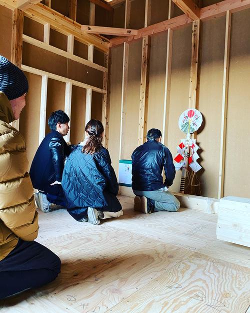 愛知県豊橋市H様 新築住宅工事その1 上棟_c0180474_2232394.jpg