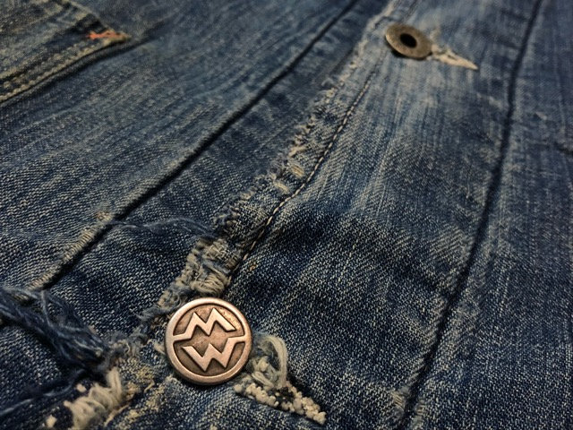 12月25日(水)マグネッツ大阪店ヴィンテージ入荷日!! #6 DenimWork編!! MONTGOMERY WARD & DRUM MAJOR, BIG MAC, PIONEER!!_c0078587_0444813.jpg