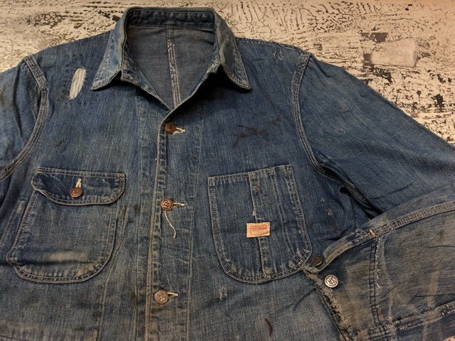 12月25日(水)マグネッツ大阪店ヴィンテージ入荷日!! #6 DenimWork編!! MONTGOMERY WARD & DRUM MAJOR, BIG MAC, PIONEER!!_c0078587_0475489.jpg